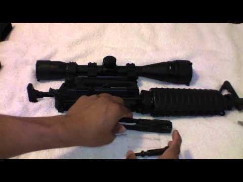 Carabina Colt M4 desarmado y armado T!