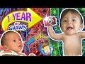 1 YEAR OF SHAWN! One Picture Daily Vlog ?? Baby's First Birthday (FUNnel Vision Learning Candles)