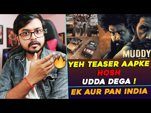 Muddy: Unique Upcoming Pan Indian Movie | Teaser Review & Reaction | Hindi
