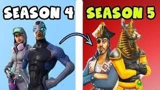 Possible season 5 skins leaked Fortnite Battle Royale EN