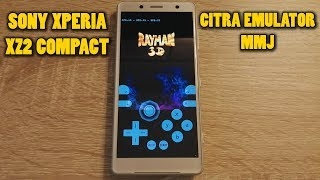 Sony Xperia XZ2 Compact - Rayman 3D - Citra Emulator MMJ - Test (CPU JIT)