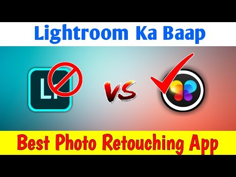 🔥(Lightroom Ka Baap) Best Photo Retouching App | Best Photo Editing App For Android -2019