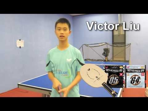 Victor Liu's Butterfly Table Tennis Equipment