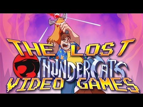🐱 The Lost ThunderCats Video Games - GYCW