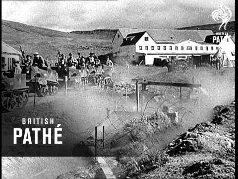 Lord Gort On Iceland (1940)