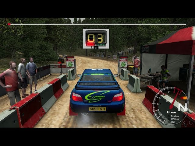 Colin McRae Rally 04 PS2 Gameplay HD (PCSX2)