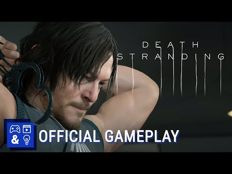 Hideo Kojima unveils an hour of raw Death Stranding gameplay — yep, it's still weird