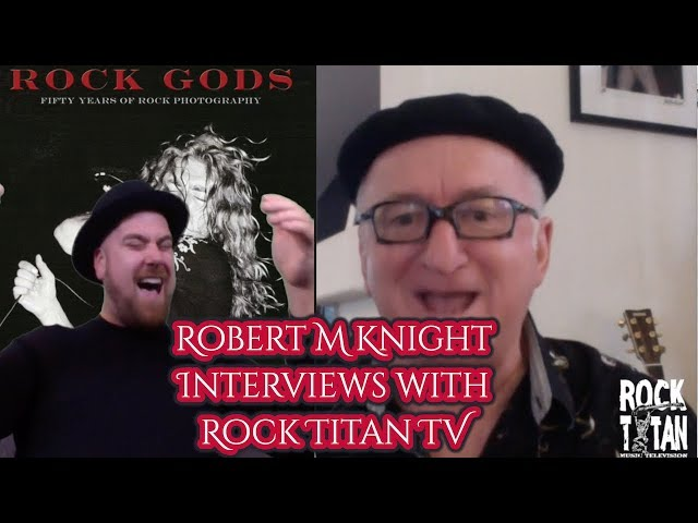 Robert M Knight is a Godfather of Concert Photography