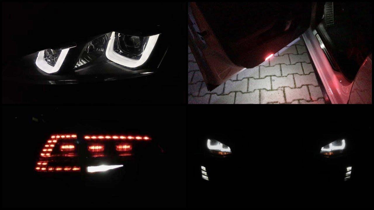 Vw Golf 7 Bi Xenon Ambiente Lights Led Tail Lights Led Interior