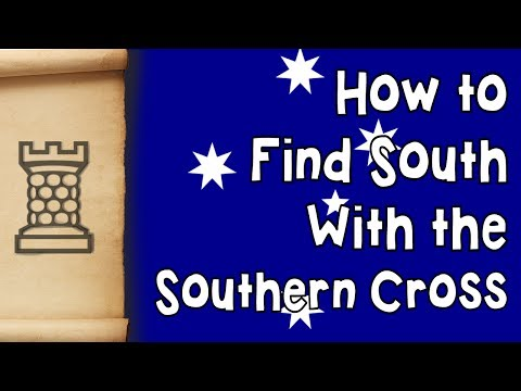 How to find South with the Southern Cross