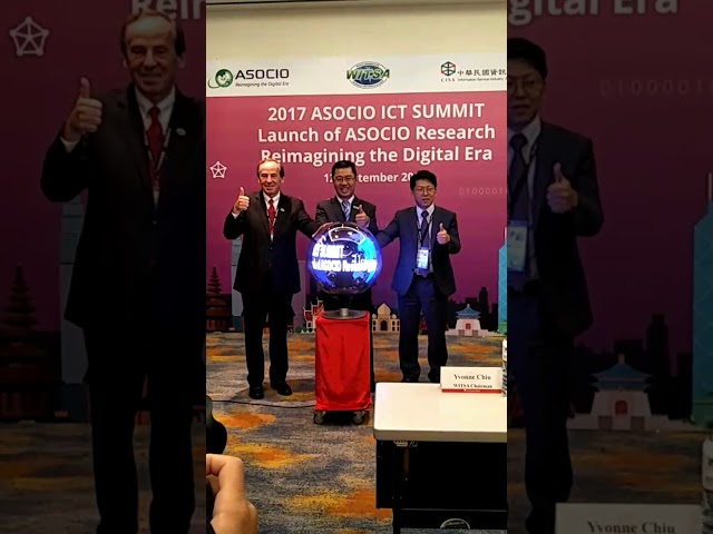 Launch of ASOCIO Research 2017 titled - Reimagining the Digital Era on 12 September 2017