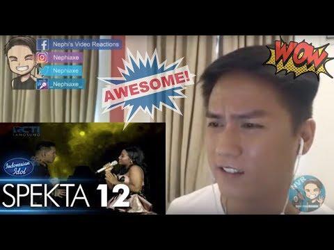 Vocalist Reacts to MARIA ft  JUDIKA  - JIKALAU KAU CINTA - Top 4 - Indonesian Idol 2018