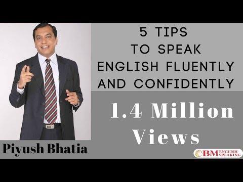 Tips To Speak English Fluently Confidently