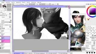 Ryu Hayabusa [Ninja Gaiden] x Xing Cai [Dynasty Warriors] (Speed drawing)