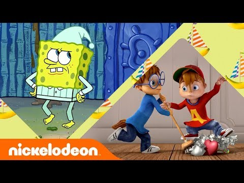 Top 9 Spring Cleaning Tips w/ SpongeBob, Alvin & Lincoln Loud 🌻 | Nick