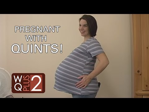 Baby COMING OUT? 9 Months Pregnant Mom! Watch BELLY MOVE ...  Baby COMING OUT...