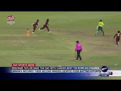 STAFANIE TAYLOR SAVE THE DAY WITH CAREER BEST T20 BOWLING FIGURES