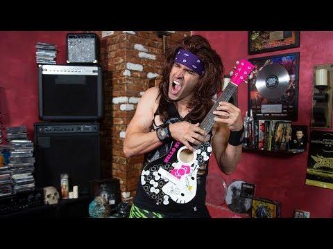 Steel Panther's Satchel Rocks 'Hello Kitty' Guitar Ballad