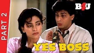 Video Yes Boss |  Shahrukh Khan, Juhi Chawla, Aditya Pancholi | Part 2 | B4U Mini Theatre download MP3, 3GP, MP4, WEBM, AVI, FLV November 2018