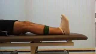Preporučene vježbe nakon ugradnje endoproteze koljena