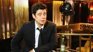 Benicio Del Toro Behind the Scenes of his new Heineken Commercial