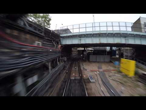 District Line driver's eye view: Richmond to Upminster
