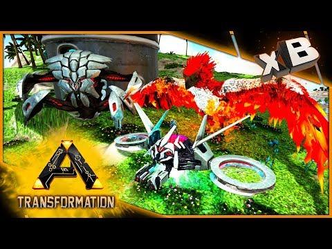 Prometheus Tek Drone | Tek Tank & Phoenix! :: Modded Ark: Transformation :: E31
