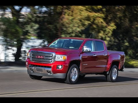 2016 GMC Canyon SLT (Start Up, In Depth Tour, and Review)