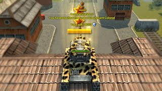 Tankionline PARKOUR RANK UP Lieutenant Colonel !!