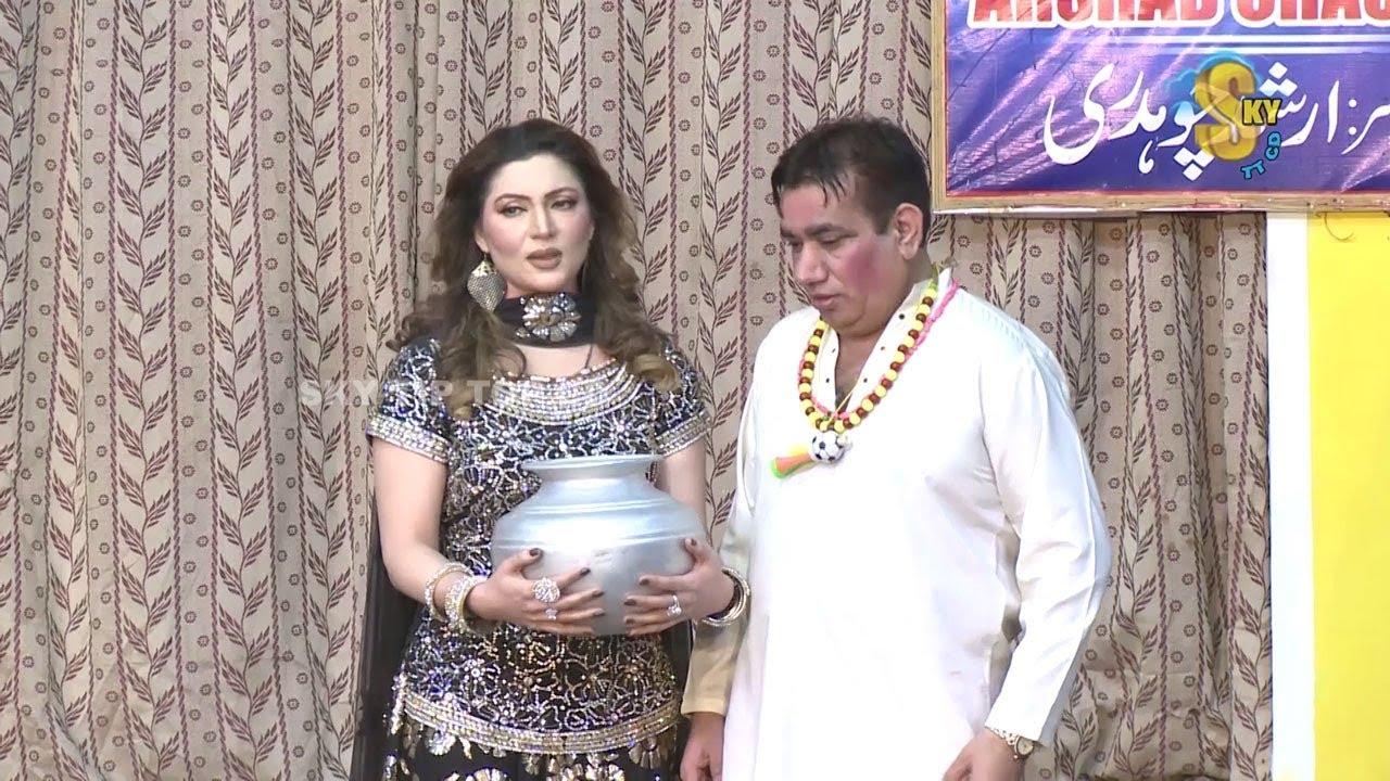 Zafri Khan and Nasir Chinyoti Pakistani Stage Drama Comedy Clip 2018   Pk Mast