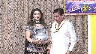 Zafri Khan and Nasir Chinyoti Pakistani Stage Drama Comedy Clip 2018
