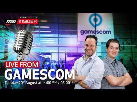 Live from Gamescom 2019