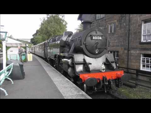 North Yorkshire Moors Railway Green Timetable Thursday 6th October 2016