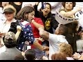 Video: KKK guy got a beat down by a Black Trump supporter Donald Trump Rally in Arizona