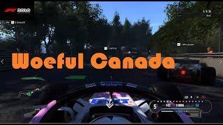 F1 2018 Online-Woeful Canada