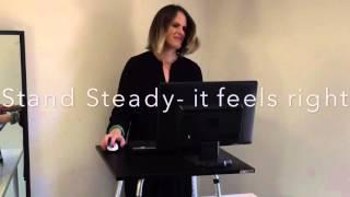Stand Steady Original standing desk converter
