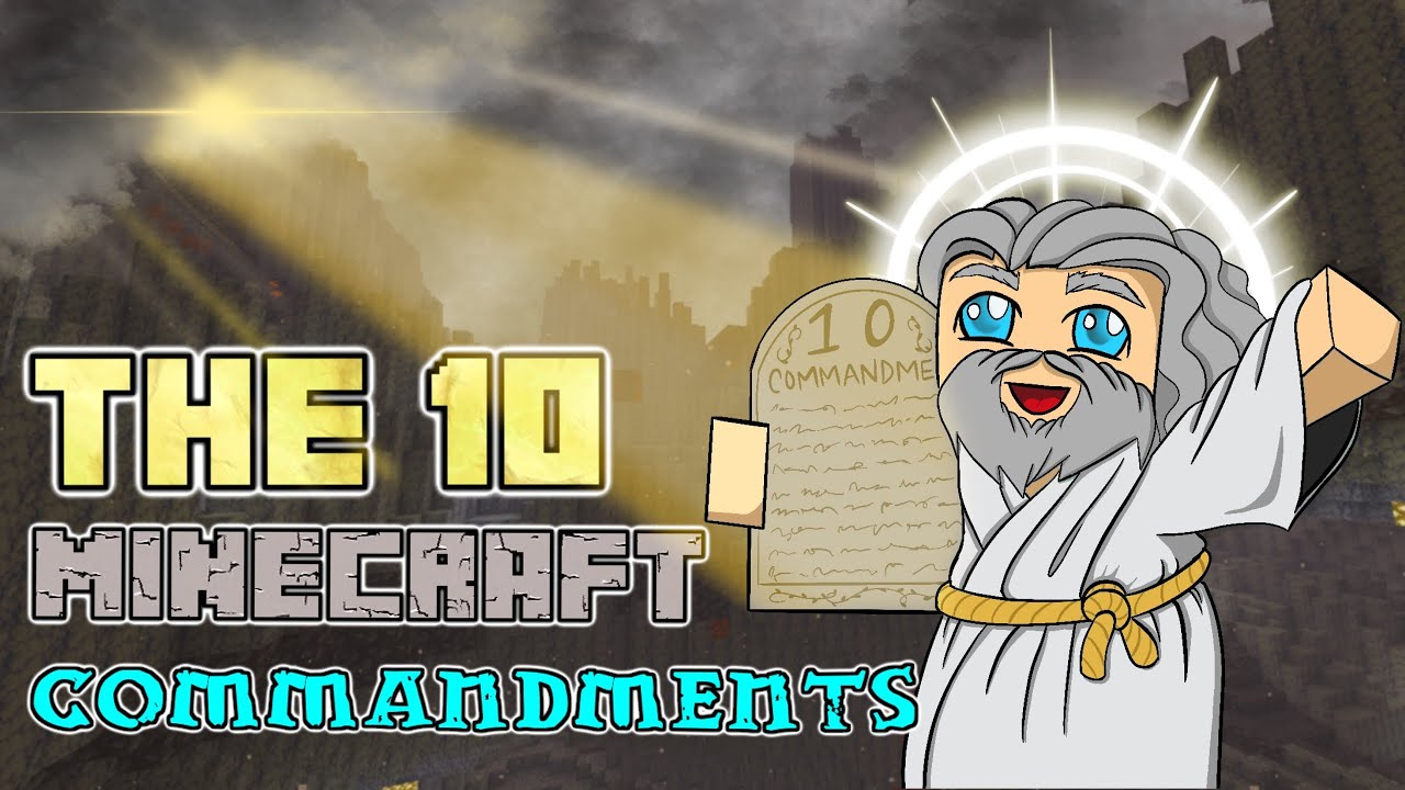 Minecraft's 1111 Commandments [11.111] (1111 Rules and How to Break Them)