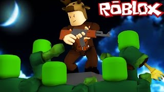 BUILD TO SURVIVE ZOMBIES IN ROBLOX! (Roblox Build To Survive)