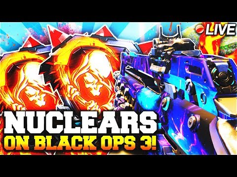 CLICK THIS STREAM IF YOU'RE A COD GOD - LIVE DROPPING NUCLEAR MEDALS w/ LEVEL 1000 on BLACK OPS 3!