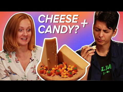 Cheese Expert Pairs Halloween Candy With Cheese
