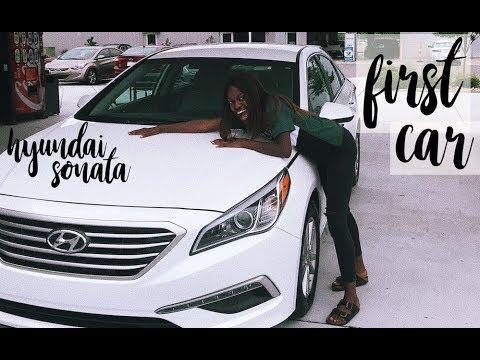 buying my first car!! & car tour | 2015 Hyundai Sonata | renee matamba