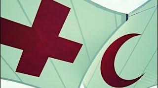 Эмблемы красного креста, красного полумесяца и красного кристалла