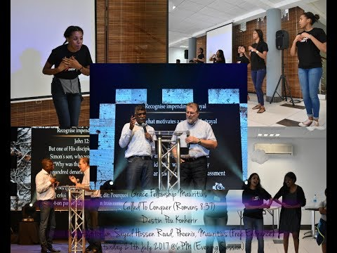 Grace Fellowship Mauritius | Saturday 29th July 2017 @6PM (Evening Session)