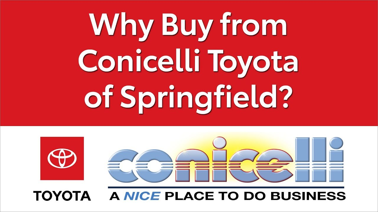 Why Buy At Conicelli Toyota Of Springfield, Your Delco Destination
