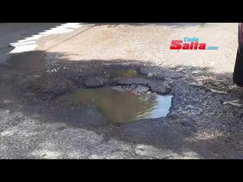#ahora #todosaltainforma perdida de agua complica el tránsito en 20 de febrer