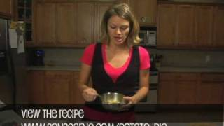 Savory Potato Pie - Vegetarian Recipe