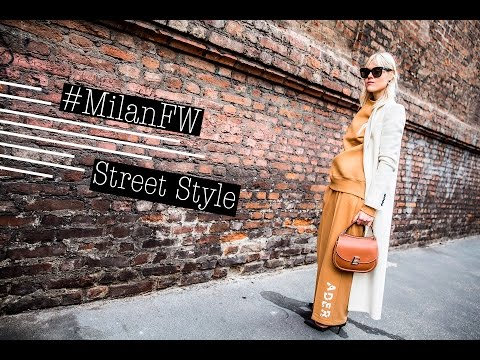 The Best Street Style from Milan F/W 17-18