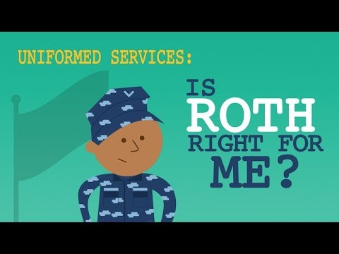 Is Roth TSP Right for Me? (Uniformed Services)