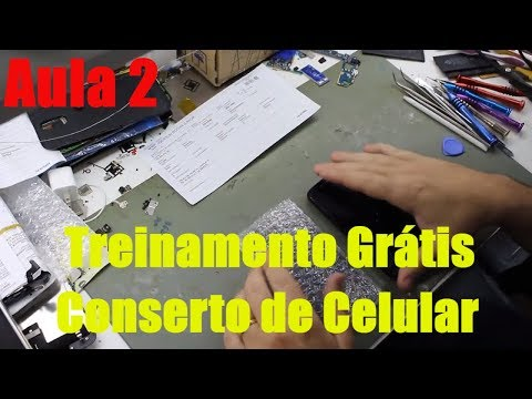 Aula 2 - Treinamento Grátis Conserto de Celular - Conserto Moto G2