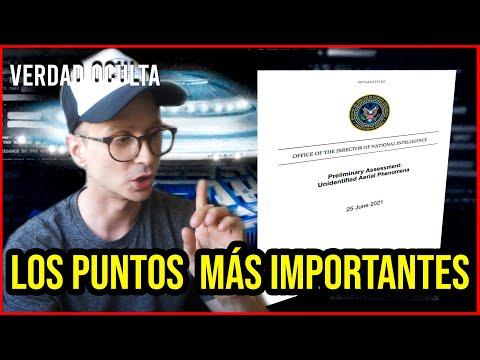 LO MÁS IMPORTANTE DEL DOCUMENTO DESCLASIFICACIÓN OVNI DEL 25 DE JUNIO